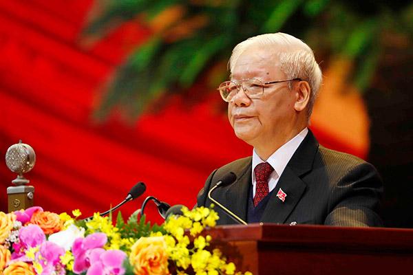 Tổng bí thư Nguyễn Phú Trọng tái đắc cử nhiệm kỳ thứ ba liên tiếp