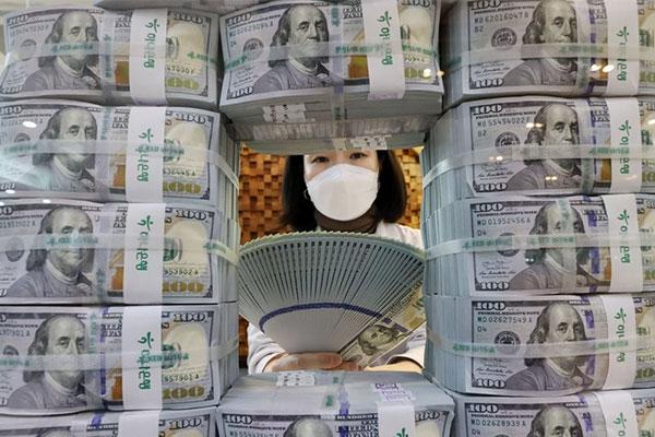 Währungsreserven im Februar wieder gestiegen