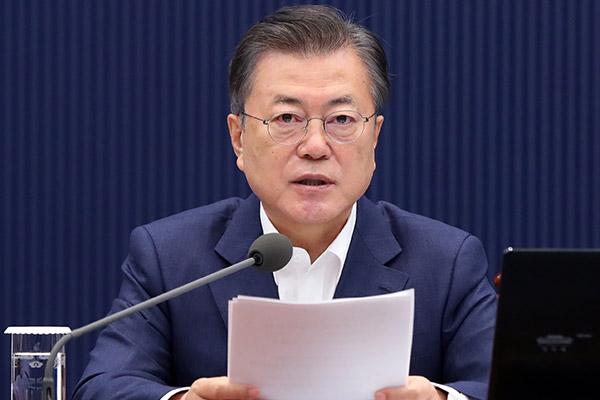 Präsident Moon verspricht Schaffung von über 900.000 neuen Arbeitsplätzen im Auftaktquartal