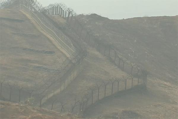 У межкорейской границы задержан подозрительный мужчина