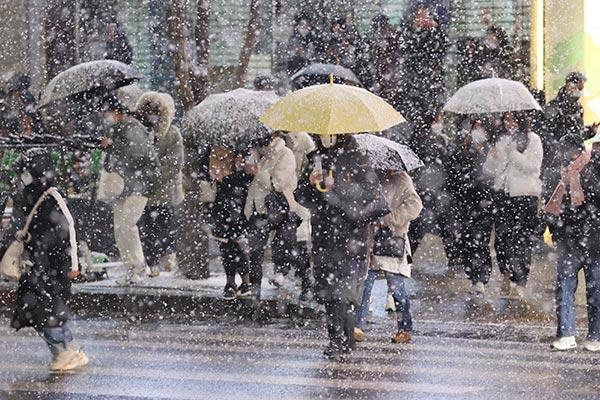 В РК наступило похолодание, пошёл снег