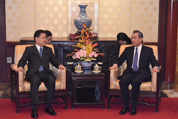 Ngoại trưởng Hàn-Trung điện đàm, tái xác nhận chuyến thăm Seoul của Chủ tịch Tập Cận Bình