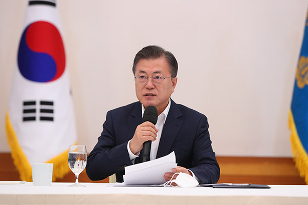 Moon: 4th COVID-19 Relief Package Reflects Gov't Will to Overcome Crisis