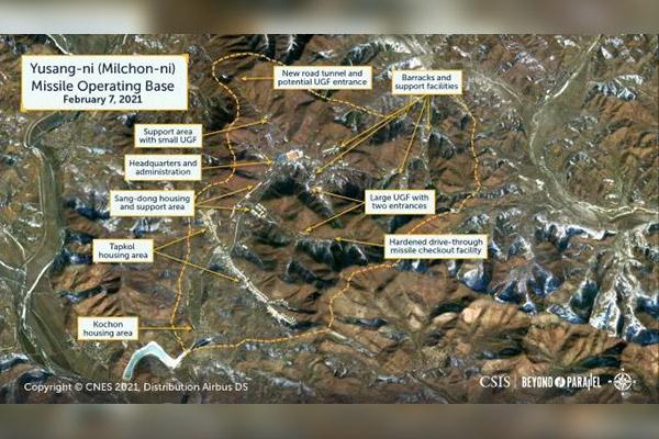 CSIS detecta actividad en base norcoreana de Yusang-ri