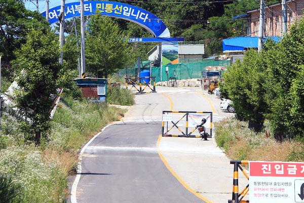 北韓男性の越境 監視カメラに8回も捉えられるまで対応なし