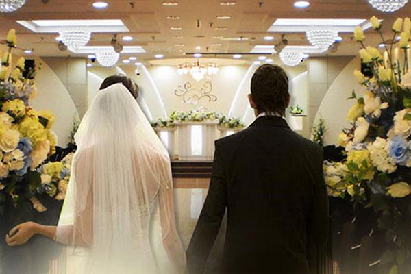 Rekordrückgang der Zahl der Eheschließungen im letzten Jahr