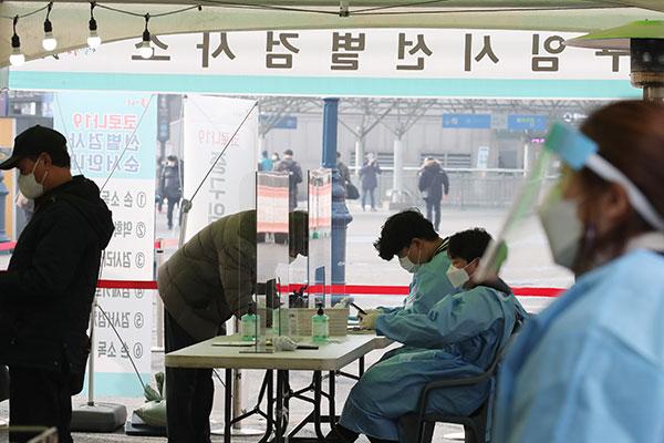 韩新增396例新冠病例 当局将严厉应对三一节集会违反防疫行为