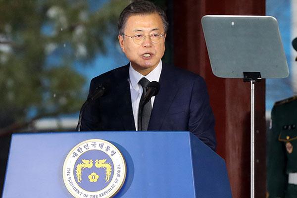 Präsident Moon betont Bereitschaft zu Dialog mit Japan