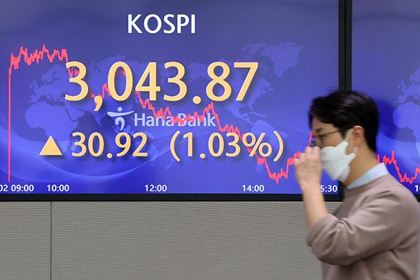 Börse in Seoul legt um ein Prozent zu