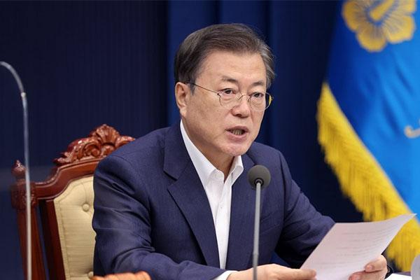 Präsident Moon nimmt heute an von USA veranstaltetem Umweltgipfel teil