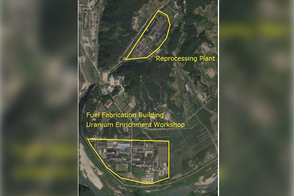 38 North: Rauchfahne am nordkoreanischen Atomkomplex in Yongbyon