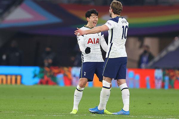 Premier League : le duo Son-Kane établit un record de combinaisons de buts en une saison