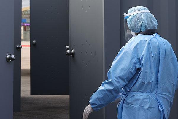Südkorea meldet 446 neue Covid-19-Fälle