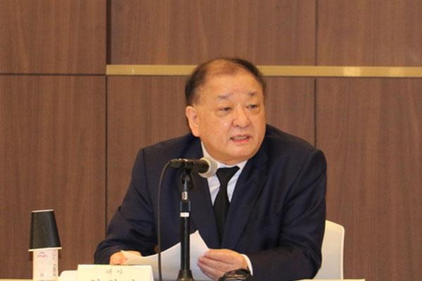 元徴用工問題「外交を通じて解決の道探るべき」駐日韓国大使
