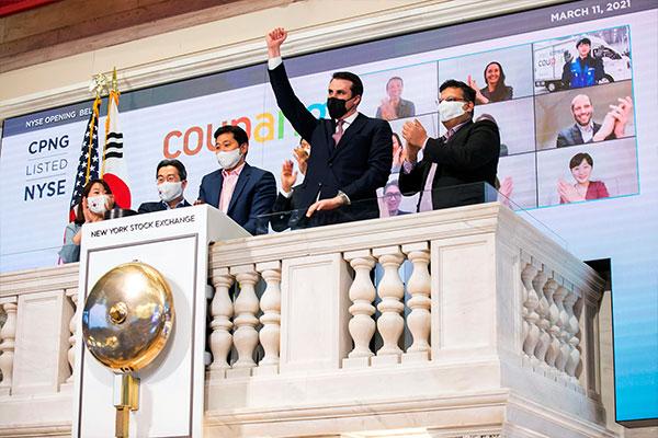 韓国EC大手クーパンが米NY市場に上場 初日終値は40%急騰