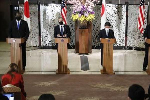 Mỹ và Nhật Bản cảnh cáo cứng rắn Trung Quốc