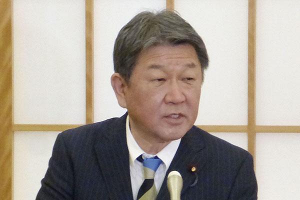 韓日外相がロンドンで初の会談 意思疎通強化で一致