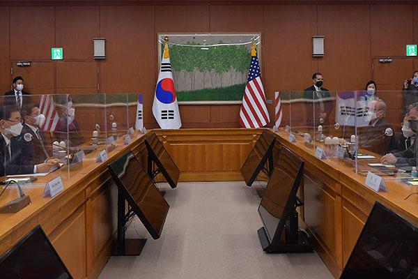Südkorea und USA führen Gespräche im Verteidigungsbereich
