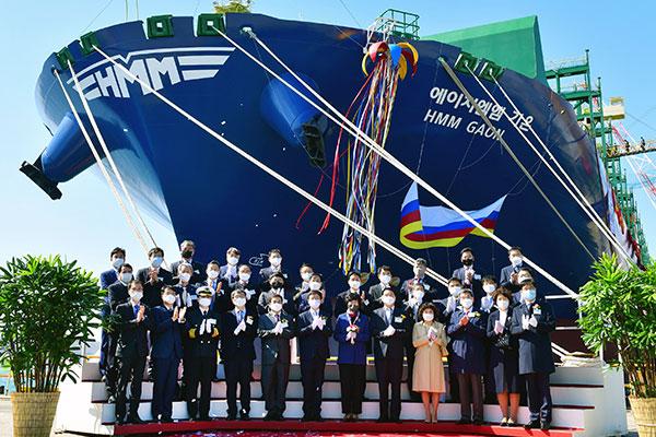 韩国海运公司货轮连续满仓