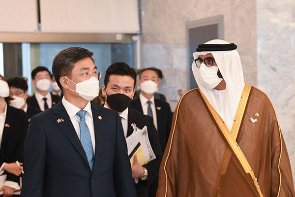 国防部長官 韓国訪問中のEU軍事委員長と会談 安保協力強化で一致
