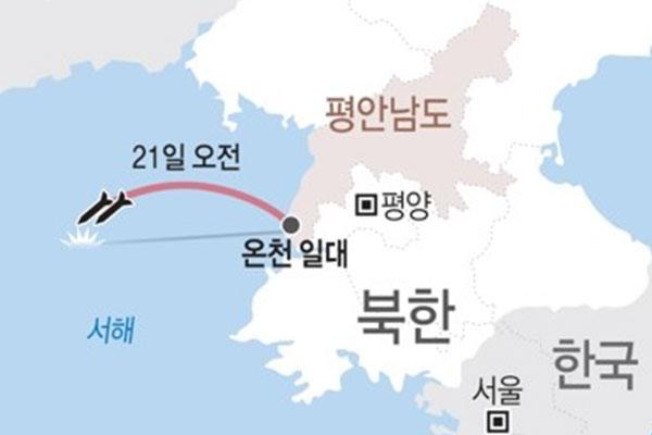 Corea del Norte lanzó dos misiles de corto alcance el fin de semana