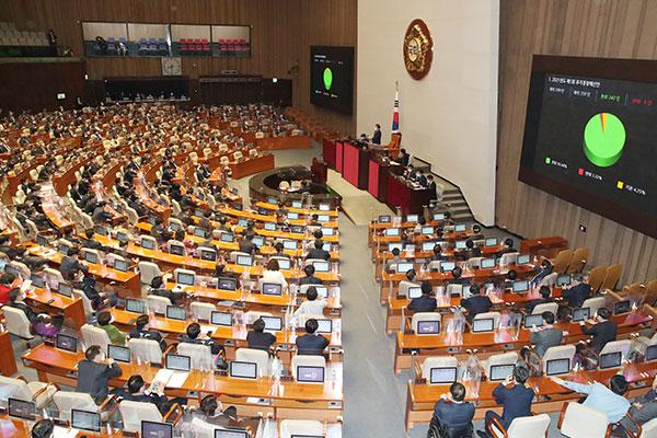 Национальное собрание РК заслушивает глав правительственных учреждений