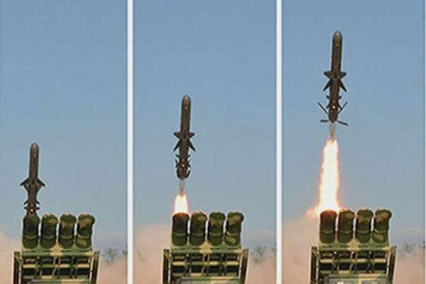 北韩向东海发射2枚短程导弹 青瓦台深表忧虑