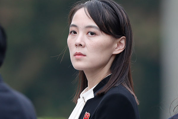 北韓の弾道ミサイル発射への文大統領の発言を、金与正氏が非難