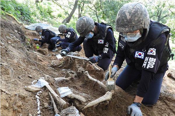 Bergung von Kriegsgefallenen in DMZ wird nächste Woche fortgesetzt