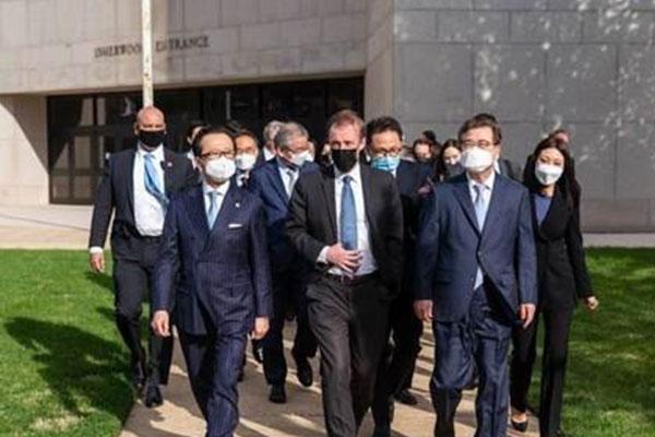 韩美日举行国家安全对话