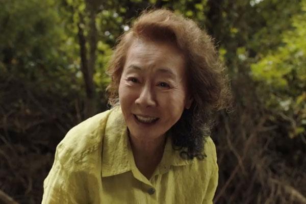 映画「ミナリ」のユン・ヨジョン 全米映画俳優組合賞受賞