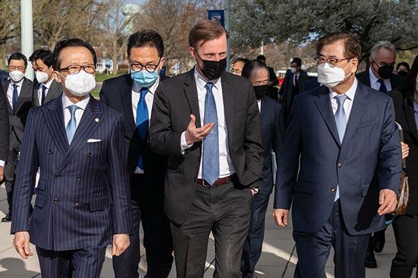 韓日米の安保担当高官協議 非核化に向けて3か国が協力で一致