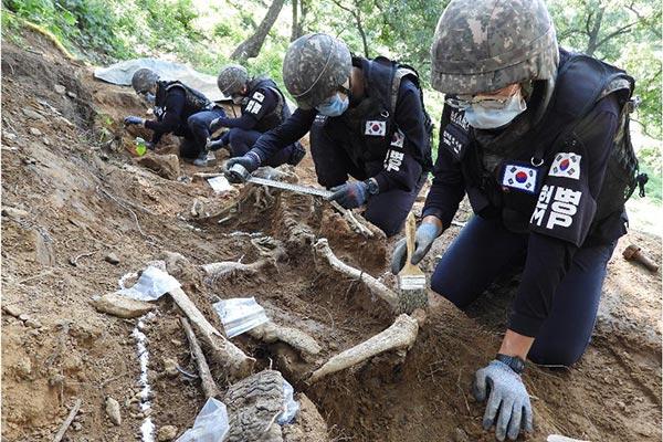 Bergung von Kriegsgefallenen in DMZ wird ab heute fortgesetzt