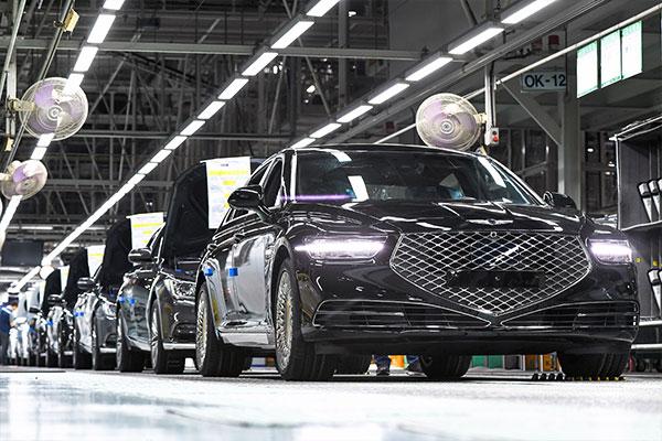 Pénurie de puces : Hyundai Motor suspend la production d'une usine à Ulsan