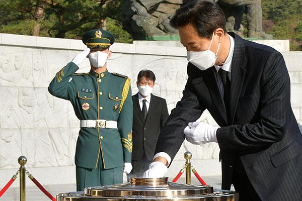呉世勲新ソウル市長「市民をケアする市長に」 10年ぶり返り咲き