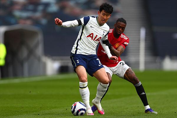 سون هُنغ مين يسجل هدفه الرابع عشر في هذا الموسم