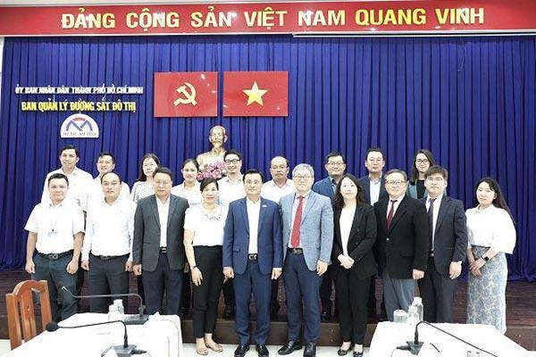 Hàn Quốc tham gia dự án hỗ trợ xây dựng đường sắt đô thị tại thành phố Hồ Chí Minh