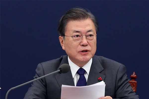 Moon Personally Delivers S. Korea's Concerns over Fukushima Water Release