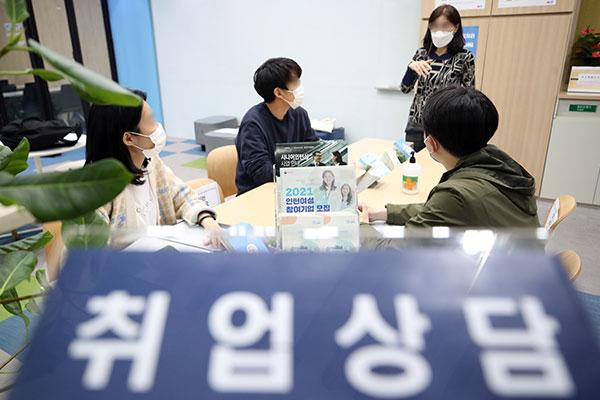 3月韩国就业人口增31.4万人 时隔13个月再次增加