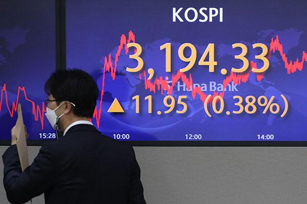 KOSPI Ends Thursday Up 0.38%
