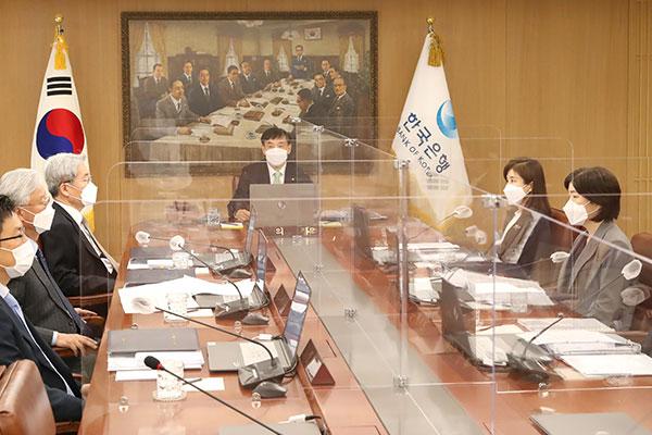 韩央行维持基准利率0.5%不变