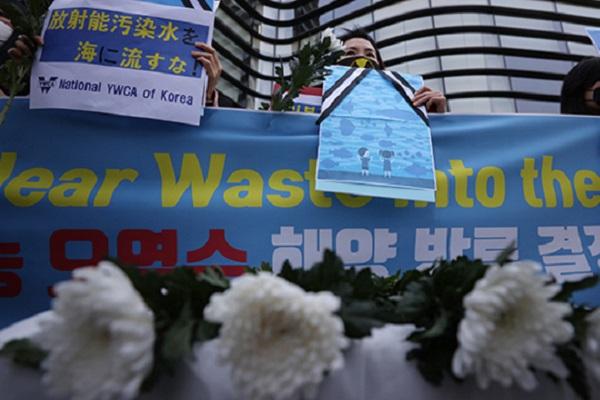 Kelompok Sipil Korsel dan Jepang Protes Keputusan Pembuangan Air Terkontaminiasi Radioaktif PLTN Fukushima