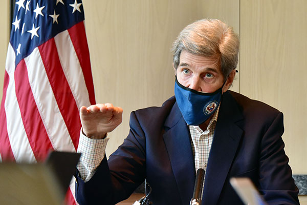 S. Korean FM, US Climate Envoy John Kerry Differ over Fukushima Water Disposal