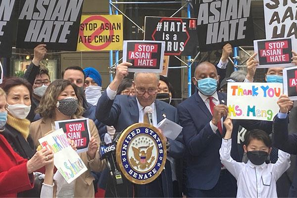 Senat AS Loloskan RUU Pencegahan Kejahatan Kebencian terhadap Orang Asia