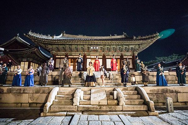2021韩国宫廷文化庆典30日开幕