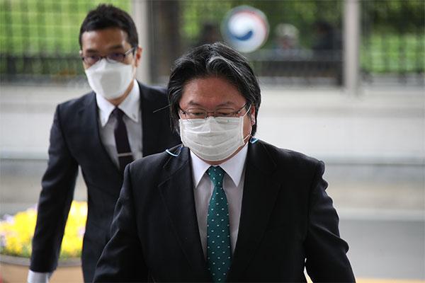Seoul lên án nội dung Sách xanh Ngoại giao của Nhật Bản