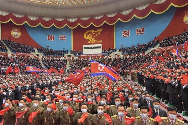 Peringatan 75 Tahun Pendirian Partai Buruh Korea pada 10 Oktober