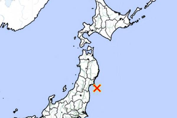 6.8 Magnitude Earthquake Near Coast of Japan's Miyagi Prefecture