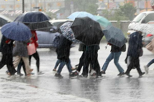 Météo : la pluie s'abat sur la péninsule