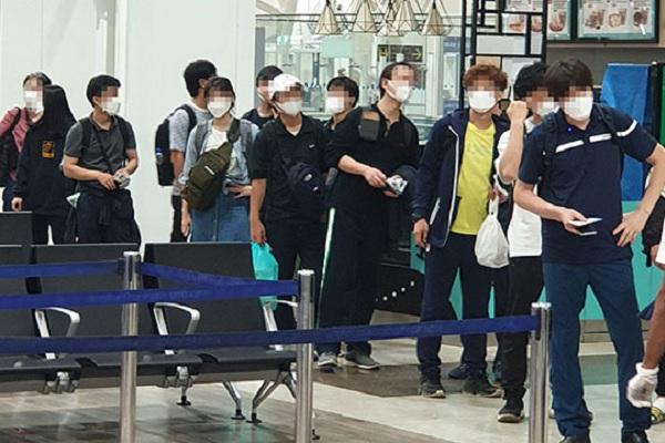 Hàn Quốc đưa 172 công dân tại Ấn Độ hồi hương